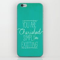 You Are Cherished iPhone & iPod Skin