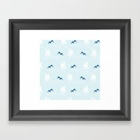 Playful Sea Framed Art Print