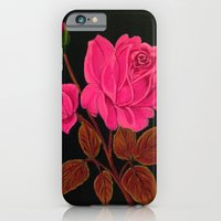 iPhone & iPod Case featuring Pink Roses by maggs326