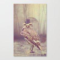 Fairy tale : owl Canvas Print