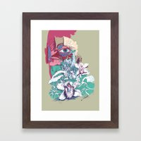 Stream of Tears Framed Art Print
