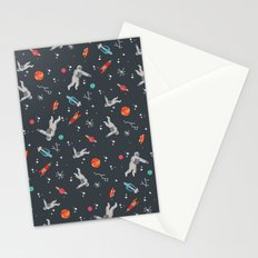 Spaceships, planets and Astronaut Stationery Cards