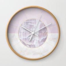 Geometric Nature ~ No 3 Wall Clock