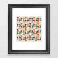 MCM Fall Framed Art Print