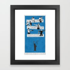 New York on Film Framed Art Print