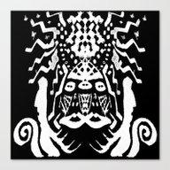 Painting  Remix Art Brut Canvas Print