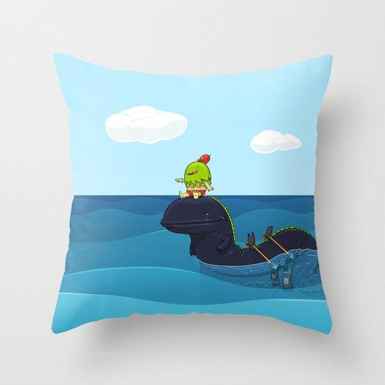 Game Hunter Throw Pillow