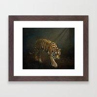 The Night Prowler Framed Art Print