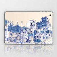 Blue Buildings Laptop & iPad Skin