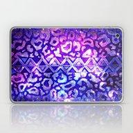 Laptop & iPad Skin featuring TRIBAL LEOPARD GALAXY An… by EbiEmporium