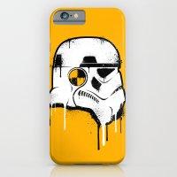 Stencil Trooper - Star W… iPhone 6 Slim Case