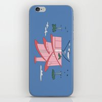 Pink Panther's Modern House iPhone & iPod Skin