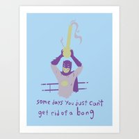 Somedays You Just Cant G… Art Print