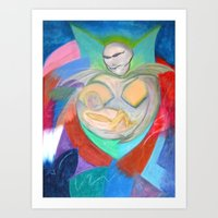 Madonna And Child ~ Redu… Art Print