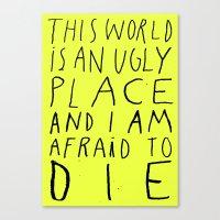THIS WORLD Canvas Print
