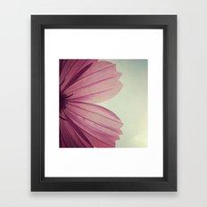 FLOWER 002 Framed Art Print