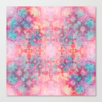 Candy Outburst Canvas Print