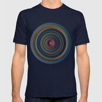 New Life (II) Mens Fitted Tee Navy SMALL