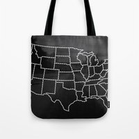 Ride Statewide - USA Tote Bag