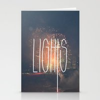SKY LIGHTS Stationery Cards