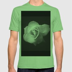 White Rose Mens Fitted Tee Grass SMALL