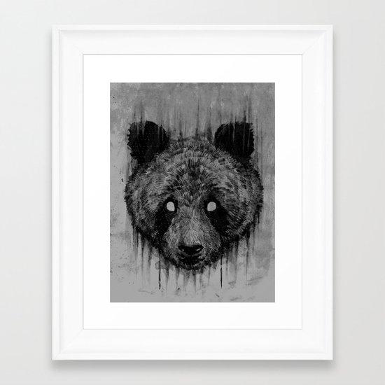 P.A.N.D.A Framed Art Print