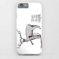Vivimos en un peligro constante (We live in a constant danger) iPhone 6 Slim Case