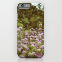 Among the Wildflowers iPhone 6 Slim Case