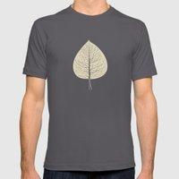 Tree-leaf Mens Fitted Tee Asphalt SMALL