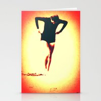 Woman Emerging (g) Stationery Cards