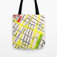 NEW YORK Map Design - SO… Tote Bag