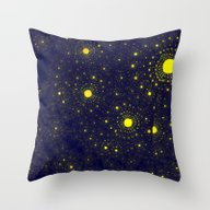 Infinitely Solar Systems Throw Pillow