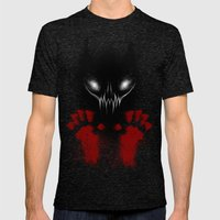 Bloody Hands Mens Fitted Tee Tri-Black SMALL