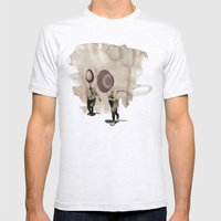 hey diddle diddle 5 Mens Fitted Tee Ash Grey SMALL