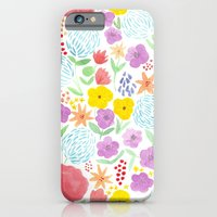 les fleurs iPhone 6 Slim Case