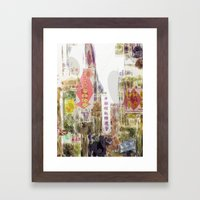 Impressions of Chinatown - San Francisco #3 - Mark Gould Framed Art Print