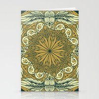 Mandala 9 Stationery Cards