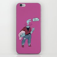 Dullahan Dame iPhone & iPod Skin