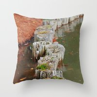 Stumps Throw Pillow