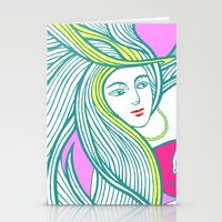 Battle With The Devil  /… Stationery Cards