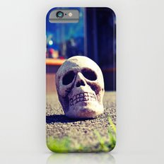 Sidewalk skull iPhone 6 Slim Case