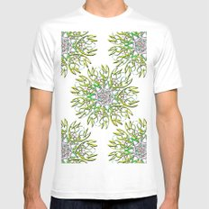 DIAMOND SUTRA SMALL Mens Fitted Tee White