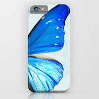 butterfly iPhone & iPod Cases featuring Butterfly by noirblanc777