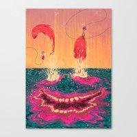 Fisgados Canvas Print