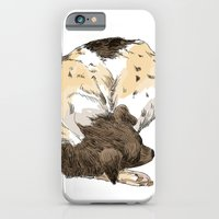 iPhone & iPod Case featuring Sleeping Dog #002 by Les Gordon