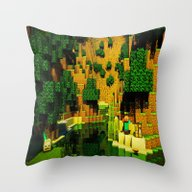 STEVE ON RIVER Throw Pillow