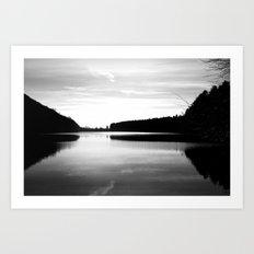 Lake Effects Art Print