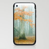 iPhone & iPod Skin featuring Autumn Woods by Olivia Joy StClaire