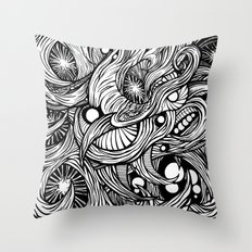 Infection Throw Pillow