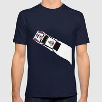 Delta S4 Mens Fitted Tee Navy SMALL